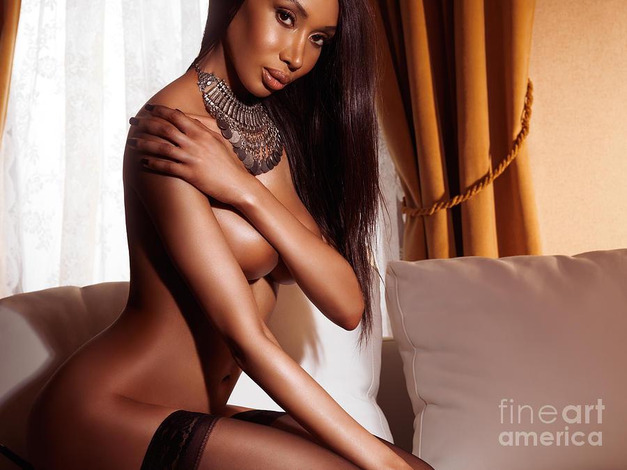 Sexy Black Women Posing Nude 36